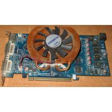 Глючная видеокарта 512Mb DDR3 nVidia GeForce 9800GT Gigabyte GV-N98TZL-512H PCI-E (Братск)