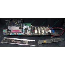 Материнская плата Asus P4PE (FireWire) с процессором Intel Pentium-4 2.4GHz s.478 и памятью 768Mb DDR1 Б/У (Братск)